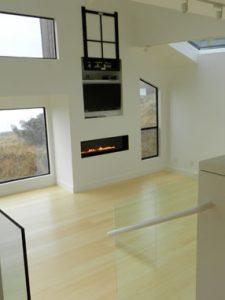 J Schmidt Construction vaulted livingroom